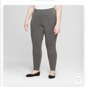 Grey Pull on Pant